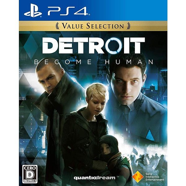 SIE Detroit: Become Human (デトロイト: ビカムヒューマン)[Value Selection] [PS4] PCJS66033