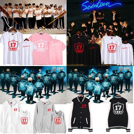 【二着佐川急便 無料配送】Seventeen 17  GOING コンサート  イニシャル Tシャツ パーカー 長袖トレーー/seventeen(セブンティーン)/SEVENTEEN