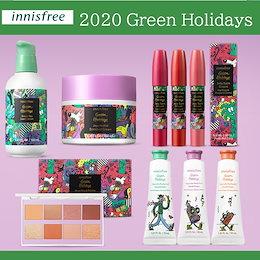 イニスフリー グリンーホリデイエディション アイシャドウパレット/シードセラム大容量/エンリッチドクリーム/ハンドクリーム/ジェリーバームinnisfree green holiday Editon