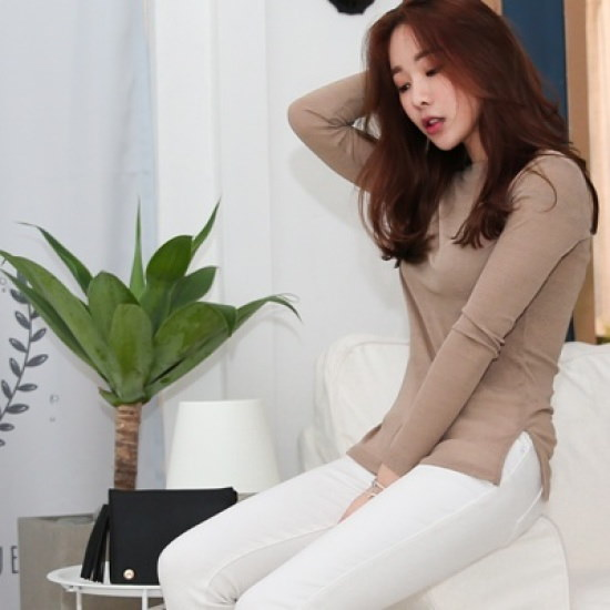 ホワイト・フォックスしたようにクミンドゥッ・ニット ニット/セーター/ニット/韓国ファッション