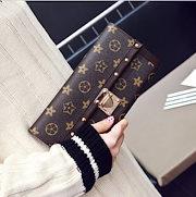 8ae8f5594f9b 新作財布長財布 復古 レディ一ス財布 ファッション ボタンレト口 三つ折り多カード