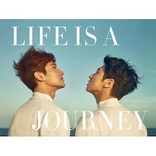 TVXQ ! LIFE IS A JOURNEY 東方神起 写真集【先着ポスター丸め|レビューで生写真5枚|宅配便】