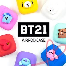 BTS 防弾少年団 BT21 エアポートケース Line Friends Official Goods:BT21 Universtar Airpods Case