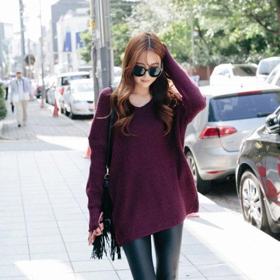 レドゥオピンコットンキャンディーロング・ニット ニット/セーター/ニット/韓国ファッション