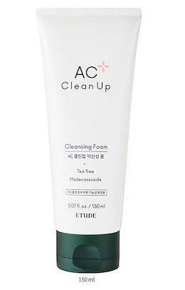 ETUDE HOUSE AC Clean Up Daily Cleansing Foam  エチュードハウス  ACクリーンアップデイリークレンジングフォーム 150ml