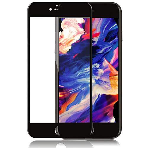 【2枚セット】iPhone 7plus / iPhone 8 plus 強化ガラス フィルム 10D液晶保護フィルム10D曲面全面保護 透過率99.99% 飛散防止 タッチが滑 最強硬度9H