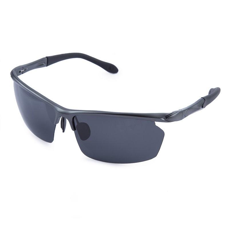 ヴィンテージオスアーク形偏光ドライバーサングラス