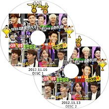SM TOWN イトゥク 入隊 特集 強心臓 2枚セットKANGSIMJANG DVD / 東方神起 TVXQ 少女時代 SNSD SUPER JUNIOR ◆K-POP DVD◆