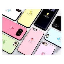 ★ ドキドキミラー/カードポケットケース ★ iPhone 6 / 7 / 8 / X / XS Max / XR ★ Galaxy Note 9 / Note 8 / S9 / S8 / S7 ★