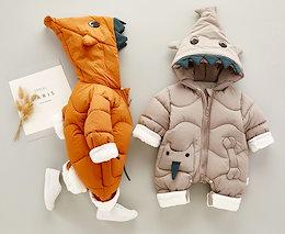 bb354b22a40da 棉服ダウンオールインワン 冬ロンパース 赤ちゃん 子供服 ベビー服 1372