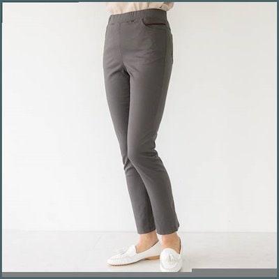 [マダム4060]ママの服、スリムに面スパン・パンツ-XPN903041- /パンツ/デンパンツ/韓国ファッション