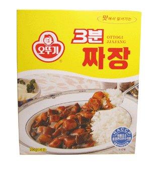 *韓サイ*韓国食材/韓国即席ジャジャン★オットギ 3分 ジャジャン 200g