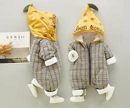 28e7e106711fc 棉服ダウンオールインワン 冬ロンパース 赤ちゃん 子供服 ベビー服 1633