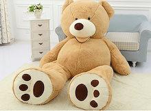 ぬいぐるみ 特大 くま/テディベア 可愛い熊大きいクマ抱き枕/ふわふわぬいぐるみ 130cm 3~6営業日でお手元に届く予定