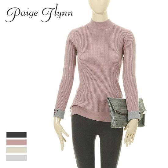 ページフリン小売配色ゴルジスリムニットR7DKN013 ニット/セーター/ニット/韓国ファッション