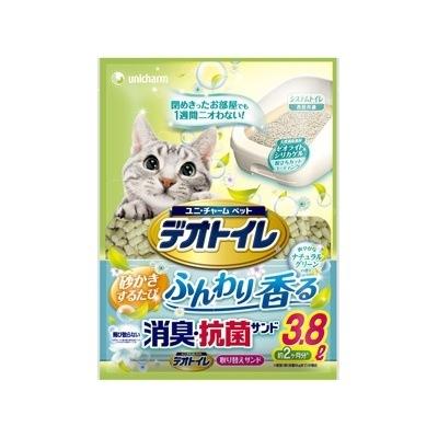 1週間消臭・抗菌デオトイレ ふんわり香る消臭・抗菌サンド 3.8L