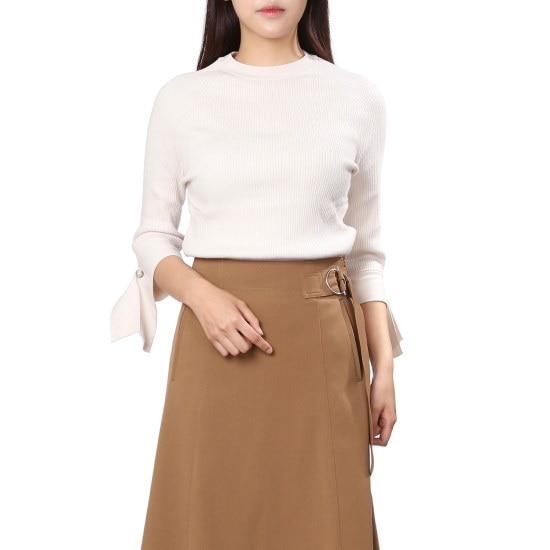 ナイスクルラプの横に広がることゴルジニートN173KSK013 ニット/セーター/韓国ファッション
