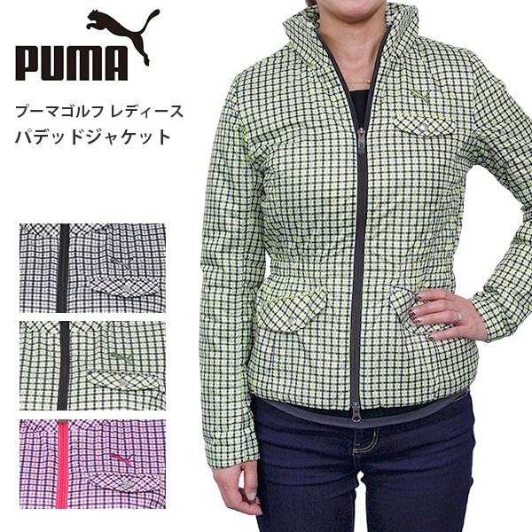 プーマ ゴルフ レディース パデッドジャケット PUMA 902301 中綿 軽量 ライト ジャケット アウター