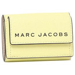 マークジェイコブス アウトレット 三つ折り財布 ミニ財布 イエロー レディース MARC JACOBS M0015057 742 MERINGUE