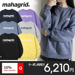 [MAHAGRID] 21年新作 ORIGIN LOGO CREWNECK 韓国正規品 マハグリッド トレーナー スウェット ユニセックス レディース メンズ 送料無料