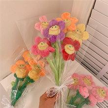 🌸韓国 ぬいぐるみ🌸最低価格保証🌸ホワイトデー🌸卒業式人形の花束 記念日のプレゼント お祝いプレゼントのキャラクター スマイルフラワー ぬいぐるみ 花束 誕生日プレゼント🌸母の日 韓国雑貨