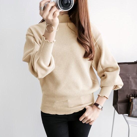ピピンビリーブゴルジ・バルーンニット102649 ニット/セーター/ニット/韓国ファッション