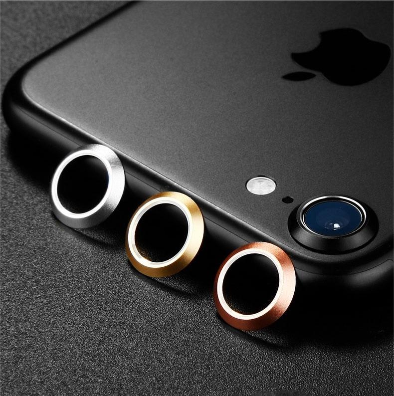 iPhone7/iPhone 7/iPhone8用カメラレンズ保護アルミリング/カメラレンズ保護リング/操作簡単/出っ張ったカメラレンズを守るカメラレンズ保護【管理番号:F107】