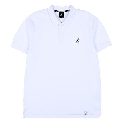 カンゴール[AK公式ストア]【kangol]ベーシックポロシャツ1709ホワイト
