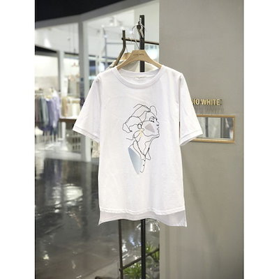 [AK公式ストア]【MILL STUDIO]シルエットプリントTシャツ(HE4TSS310)