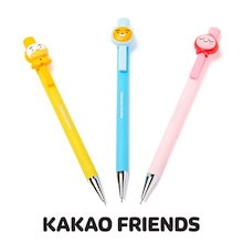 [ カカオふれんず ]  カカオフレンズ フェイスシャープペンシル / Kakao Friends 正規品