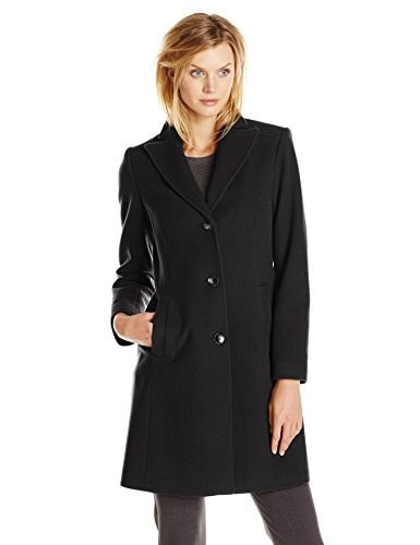 Pendleton Womens Walker Coat, Black, 16