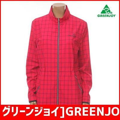 グリーンジョイ]GREENJOYのギンガムチェシクのプリントサファリGM17WJ31WP1[女性] / 風防ジャンパー/ジャンパー/レディースジャンパー/韓国ファッション