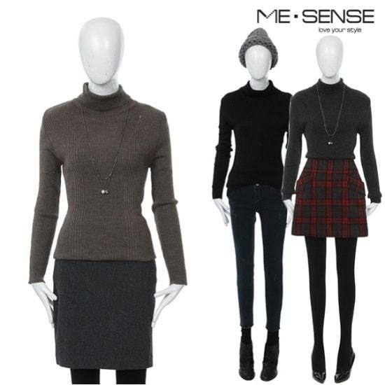 ミスセンスAPゴルジ変形モクポルラ ニット/セーター/タートルネック/ポーラーニット/韓国ファッション