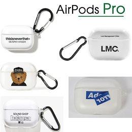 国内未入荷 【LMC Balansa・・・】 韓国ブランド 〔5ブランド〕 Airpods Pro Case  エアポッズ プロ ケース  【Clear-Black】  『送料無料』  韓国直送