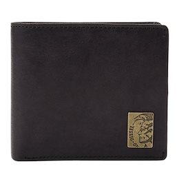 クーポン利用可能!ディーゼル DIESEL メンズ 二つ折り財布 ブラック x04996-pr013-t8013