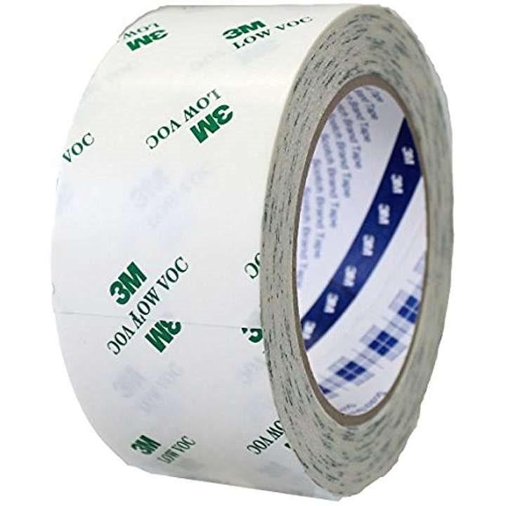内装 低VOC 両面テープ DCX1018 50X20 R(ホワイト 50mm)