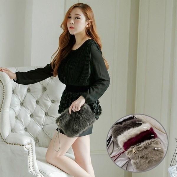 [韓国直送] YAN1602オチュオチュクラッチバッグ