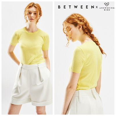 ビトウィーンエンソリンバードJENNIE WAVE KNIT TOPAB71FKN02 ニット/セーター/韓国ファッション