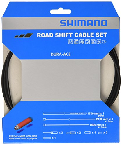 シマノ(SHIMANO) ロードシフトケーブルセット クロ Y63Z98910