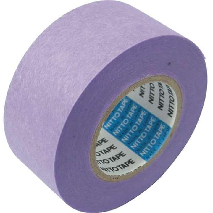 日東 マスキングテープ No.720A 40mm×18m 1本3巻入り 養生テープ NO720A40(パープル 40mmx18m)