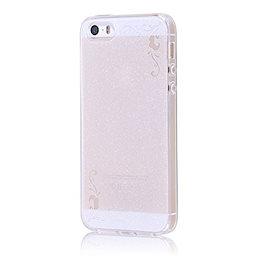 ff9a1c6892 レイ・アウト iPhone SE / iPhone5s / iPhone5 ケース TPUソフトケース ジュエラ ホワイト RT
