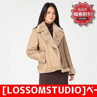[LOSSOMSTUDIO]ベーシックベルト・ムスタングジャケット(L1831JK004) /テーラードジャケット/ 韓国ファッション