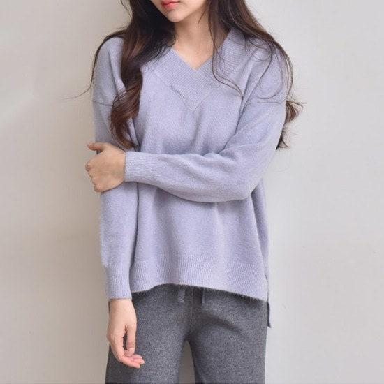 オーサムのセシーリアオンバルV・ニット233969srcLangTypeko ニット/セーター/ニット/韓国ファッション
