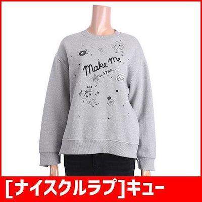 [ナイスクルラプ]キューティパターンラウンドティーシャツ(N184PWTA41) /フードTシャツ/マンツーマンTシャツ/ Tシャツ/韓国ファッション