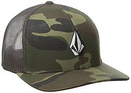7ab4221a1eece Volcom Men s Full Stone Cheese 6 Panel Flexfit Xfit Hat polo