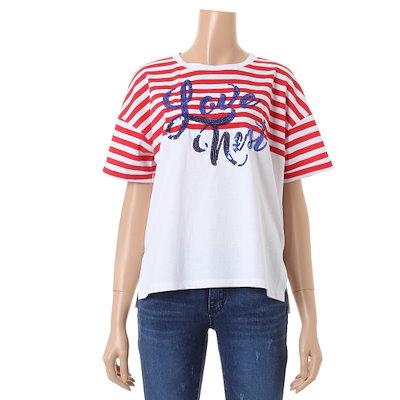 ジジピエクスパクシ・ストライプティーシャツIGB5TS724F ティーシャツ / ソリッド/無知ティーシャツ / 韓国ファッション