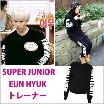 SUPER JUNIOR ウニョク 2NE1 DARA トレーナー /長袖 Tシャツ/SUPER JUNIOR/スーパージュニア/2NE1
