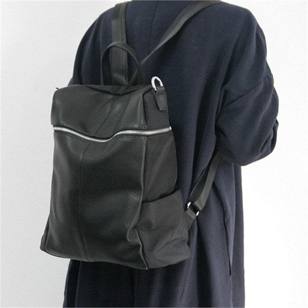 [韓国直送] ジッパーバックパック&ショルダーバッグ