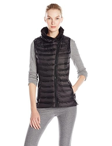 Champion Womens Performance Poly Vest with Synthetic Down, Black, Large