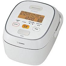 【象印/ZOJIRUSHI】 圧力IH炊飯ジャー 5.5合炊き ホワイト 【品番】NW-JS10(WA)